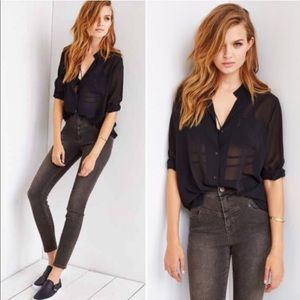 Urban Outfitters BDG High Rise Ankle Seam Jean